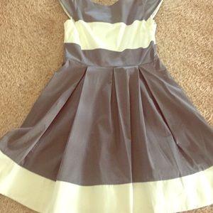 Kate Spade grey and white dress